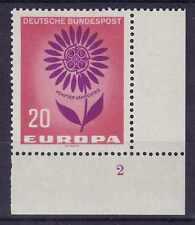 20 PF Europa 1964 Mer 446 ** forma numero 2g LUSSO