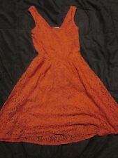 Red Lace Mossimo Dress- XS