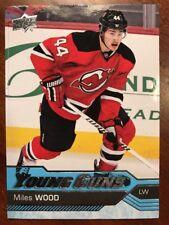 2016-17 UD Hockey Series 2 UD Young Gun Miles Wood  #453