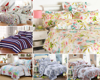 Stylish Printed Duvet Quilt Cover Double King with Pillowcase Bedding Bed Set