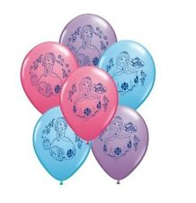 6ct Sofia The First Latex Birthday Balloon Party Faovr