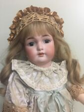 """Antique Bisque Doll By Simon Halbig CM Bergman In A Comp Body 23"""""""