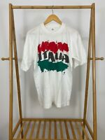 VTG Italia Firenze Florence Single Stitch Flag Short Sleeve Thin T-Shirt Size XL
