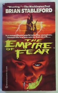 THE EMPIRE OF FEAR Brian Stableford Vintage 1993 Paperback Book Horror 885