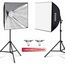 Esddi Softbox 900W Lighting Kit Professional Photo Studio Equipment (Ps070)