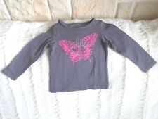 T-Shirt ,Manches L , Marque ORCHESTRA , Violet /Rose, 2 ANS , TBE