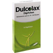 DULCOLAX Zäpfchen   6 st   PZN308169