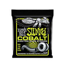 Ernie Ball Regular Slinky Cobalt Electric Bass Strings - 50-105 Gauge