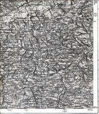 Simbach Arnstorf Jägerndorf 1911 kl. Teilkarte/Ln. Haunersdorf Indersbach