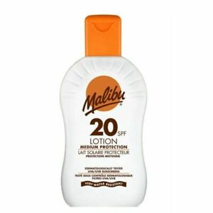 Malibu Lotion SPF 20 200ml New