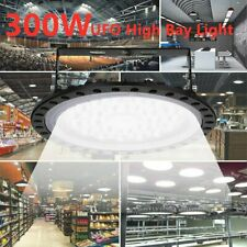New bright Warehouse LED 300W UFO High Bay Lights Factory Shop GYM Light Lamp