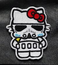 "Hello Kitty Darth Vader Star wars Empire dark side Morale [3 ""] veco patch"