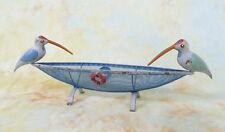 Dekokorb Obstkorb Obstschale Gemüsekorb Vogel Eisen Schiff Boot Korb E16285-b
