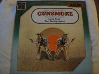 GUNSMOKE RADIO'S GREAT ADULT WESTERN STARRING WILLIAM CONRAD VINYL LP 1977 EX