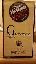 20 conf Caffè Vergnano GranAroma Miscela Classica Macinatura moka da 250 gr 5 kg