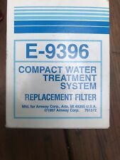 Amway E9396 Filter OEM For Compact Water Treatment System E-9395 Old Stock