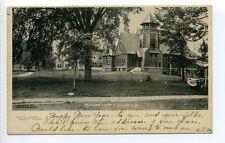 West Boylston MA Mass Baptist Church, homes 1907