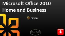 Microsoft Office 2010 Home and Business 32 / 64-Bit Product Key Download 1PC