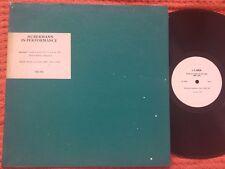 BRONISLAW HUBERMAN plays MOZART Violin Concerto #4 BACH Partita PRIVATE LP