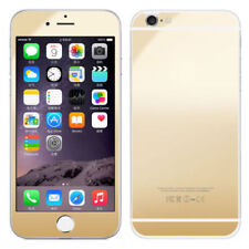 Gold Front & Back Mirror Effect Tempered Glass Screen Protector  for iphone 5/5s