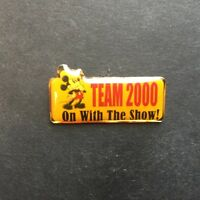 DS - Team 2000 - On With the Show! Mickey Mouse - Disney Pin 1789