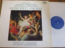 1 10 1877 Vivaldi / Corelli / Marcello etc. Concerti Grossi / Martinu CO