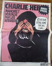 RARE !! CHARLIE HEBDO N°712 – MAHOMET supprimé de la vente dater 8/2/2006