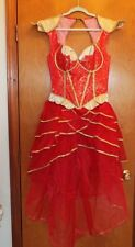 INCHARACTER COSTUMES ORIENTAL PRINCESS CORSET DRESS, 2012 SIZE LARGE. STUNNING!