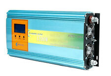 1200W GRID TIE POWER INVERTER DC26-45V TO AC110V, LCD power meter ,solar MPPT