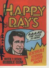 "HENRY WINKLER SIGNED 1998 INKWORKS ""HAPPY DAYS"" #70 - FONZIE"