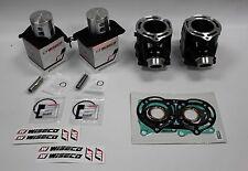 Yamaha Banshee YFZ350 STD 64mm Cylinders Wiseco Forge Pistons Top End Gasket Kit