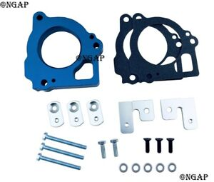 Blue Billet Throttle Body Spacer Fit 1999-2002 Jeep Grand Cherokee 4.7L V8