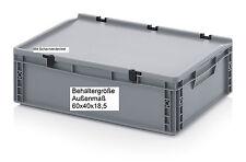 Stabile Allzweck Aufbewahrungskiste Box mit Deckel 60x40x18,5 Campingkiste Boxen