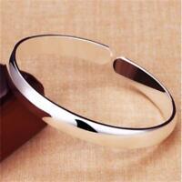 Offener Mund Armband polnischen Silber Armreif Schmuck einstellbar mode