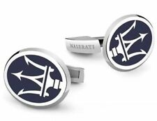 Maserati Manschettenknöpfe Manschetten Knöpfe Edel Hemd Anzug cufflinks Krone