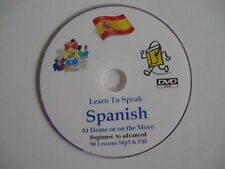 Learn to Speak SPANISH a complete Mp3 & PDF course of 90 lessons