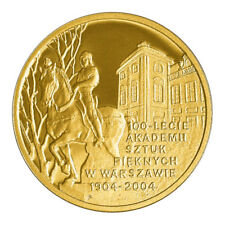 Poland 200 ZL ACADEMY OF FINE ARTS IN WARSAW 2004 Gold