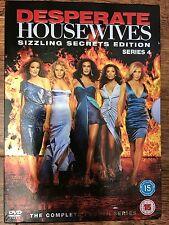 Teri Hatcher Eva Longoria DESPERATE HOUSEWIVES ~ Season 4 UK DVD Box Set