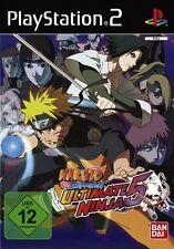 Playstation 2 Naruto Shippuden ULTIMATE NINJA 5 GuterZust.