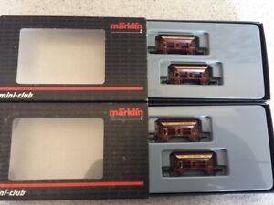 marklin z 82378 x 2 HF wiebe sets