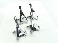 Christophe D pedal toe clips small Vintage Road Track Bike Pista 2 pair