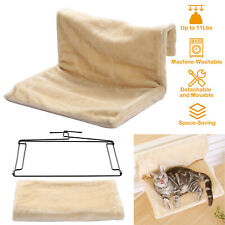 New listing Cat Radiator Bed Pet Hammock Hanging Cradle Washable Removable w/ Metal Frame Us