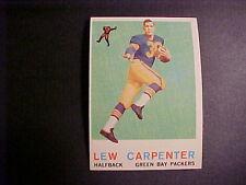 1959  TOPPS  FOOTBALL  #95  CARPENTER  NM+++