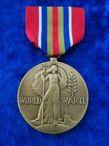 (A52-2) U.S. Merchant Marine Medal World War II Victory