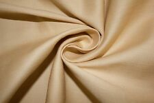 Pale Yellow Cotton Stretch Twill #2 Bottom Weight Spandex Lycra Fabric BTY