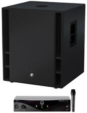"""Mackie THUMP18S THUMP-18S 18"""" 1200w Powered Active DJ PA Subwoofer Sub+AKG Mic"""