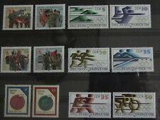 Briefmarken DDR 1988 35 Jahre Kampfgruppen,Oympische Sommerspiele + Einzelwerte