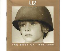 CD U2 the best of 1980 - 1990EX (B0604)