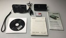 Sony Cyber-shot DSC-HX9V 16.2MP Digital Camera - Black