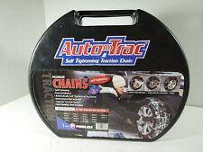 Auto Trac Track 0153510 Tire Snow Chains Self Tightening